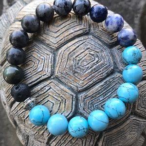 Mix gemstone bracelet